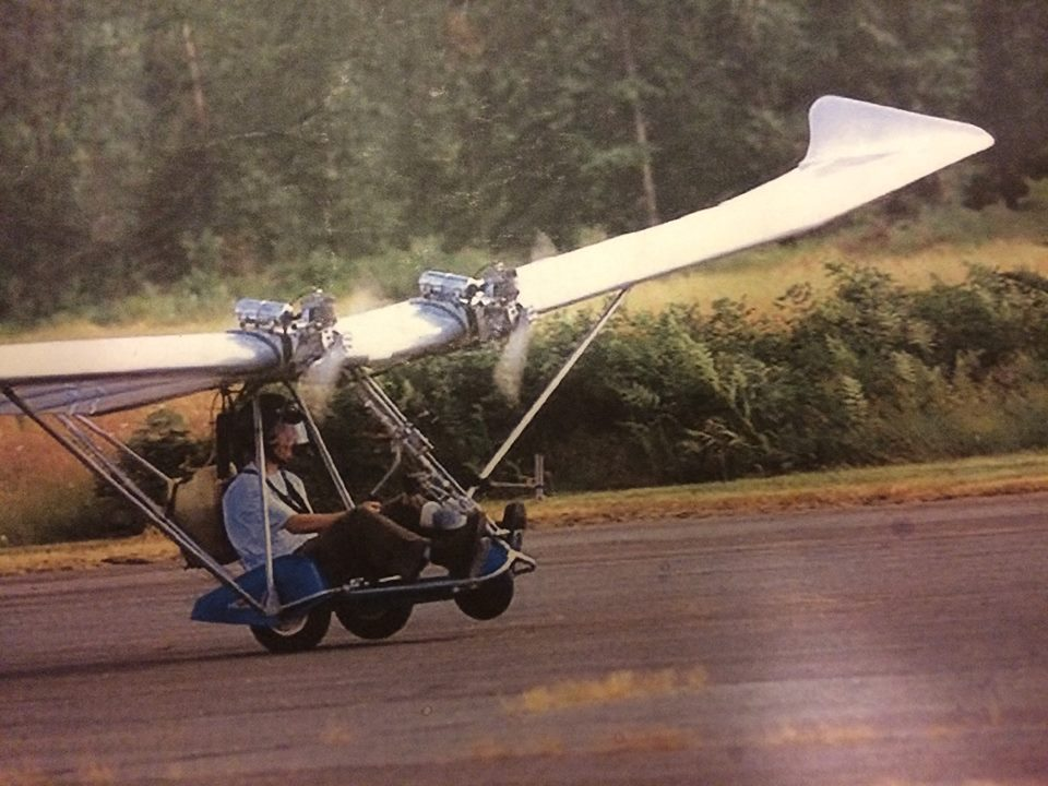 Here I am at 17 years old landing at the Arlington EAA fly-in back in July of 2000.