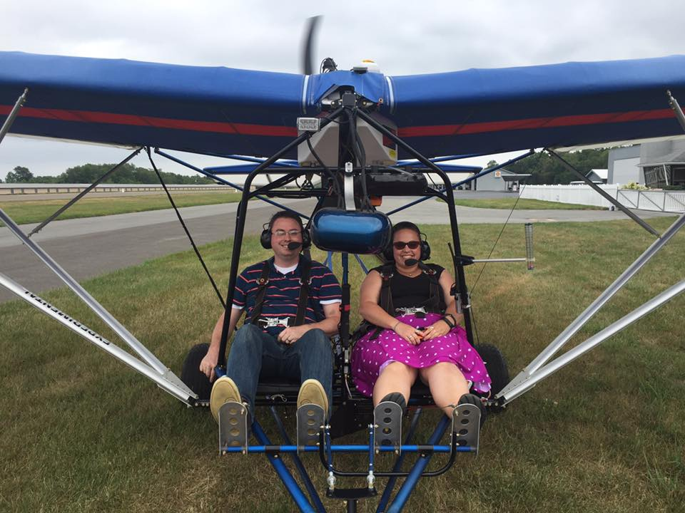 "If you own or have access to an experimental 2 place ""ultralight like"" aircraft then we may be able to assist in training."